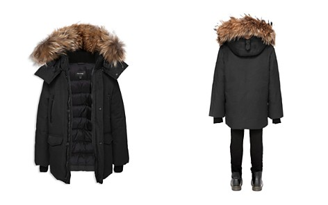 Mackage Girls' Down Parka with Fur Trim - Big Kid - Bloomingdale's_2
