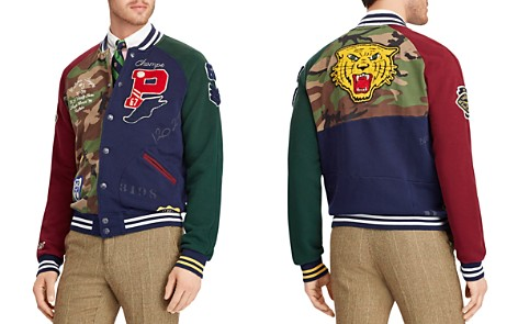 Polo Ralph Lauren Patchwork Baseball Jacket - Bloomingdale's_2