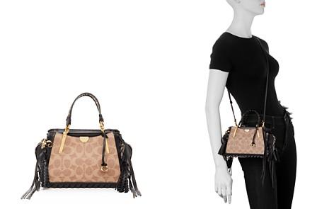 COACH Dreamer 21 Embellished Leather Convertible Mini Shoulder Bag - Bloomingdale's_2