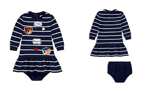 Ralph Lauren Girls' Patch Detail Striped Dress & Bloomers Set - Baby - Bloomingdale's_2