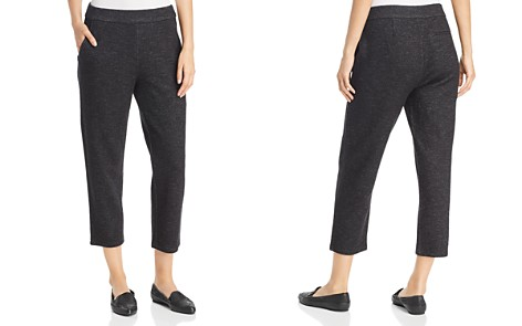 Eileen Fisher Cropped Pull-On Pants - Bloomingdale's_2