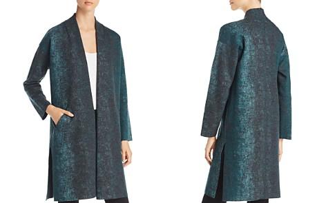 Eileen Fisher Abstract Print Kimono Coat - Bloomingdale's_2