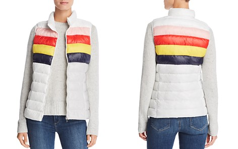 AQUA Packable Rainbow-Stripe Puffer Vest - 100% Exclusive - Bloomingdale's_2