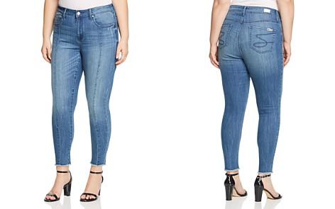 Seven7 Jeans Plus Raw-Hem Ankle Jeans in Trinity - Bloomingdale's_2