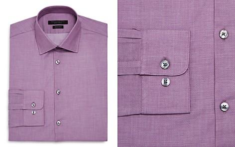 John Varvatos Star USA Micro-Dobby Regular Fit Dress Shirt - Bloomingdale's_2