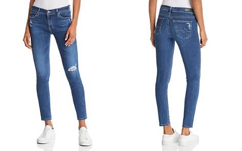 AG Ankle Legging Jeans in Seven Seas Destruct - Bloomingdale's_2