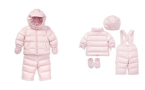 Ralph Lauren Girls' Quilted Snowsuit - Baby - Bloomingdale's_2