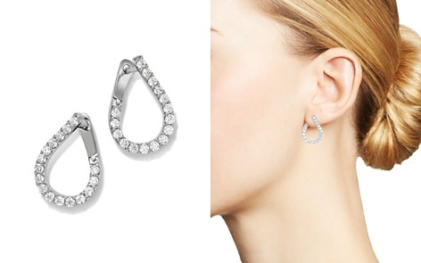 Bloomingdale's Diamond Front-to-Back Earrings in 14K White Gold, 1.50 ct. t.w. - 100% Exclusive_2