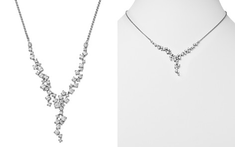 Bloomingdale's Diamond Cascade Necklace in 14K White Gold, 2.0 ct. t.w. - 100% Exclusive_2