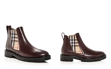 Burberry Women's Allostock Leather Booties - Bloomingdale's_2