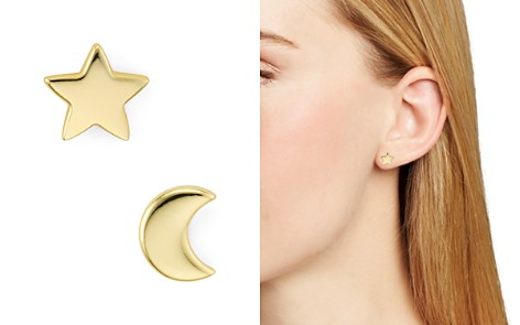 Argento Vivo Moon & Star Stud Earrings - Bloomingdale's_2