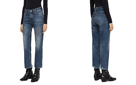 ALLSAINTS Ava High-Rise Straight-Leg Jeans in Vintage Indigo - Bloomingdale's_2