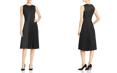 BOSS Dionia Pleated Dress - Bloomingdale's_2