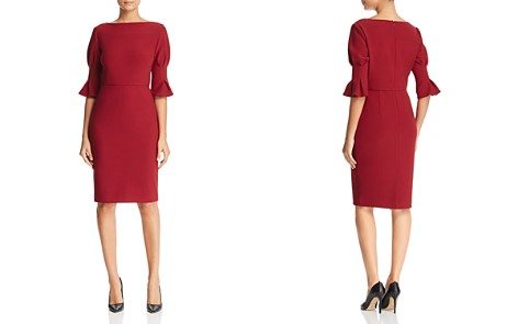 Badgley Mischka Bell Sleeve Dress - Bloomingdale's_2