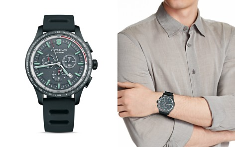 Victorinox Swiss Army Alliance Sport Black Chronograph, 44mm - Bloomingdale's_2