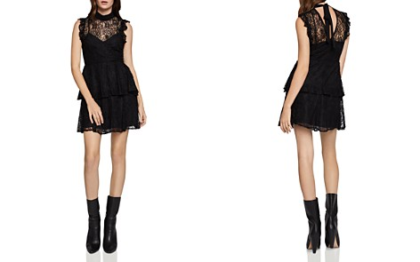 BCBGeneration Tiered Lace Dress - Bloomingdale's_2