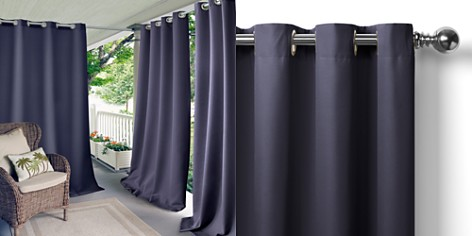 """Elrene Home Fashions Connor Solid Indoor/Outdoor Curtain Panel, 52"""" x 108"""" - Bloomingdale's_2"""