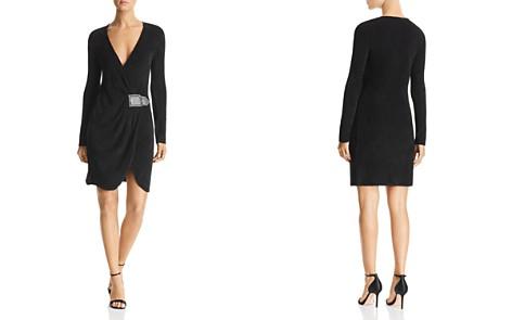 Emporio Armani Draped Faux-Belt Dress - Bloomingdale's_2