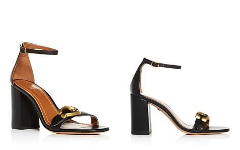 COACH Women's Maya Leather Ankle Strap Block-Heel Sandals - Bloomingdale's_2