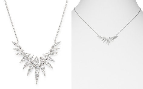 Bloomingdale's Diamond Statement Necklace in 14K White Gold, 0.65 ct. t.w. - 100% Exclusive_2
