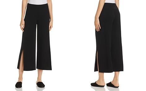 Eileen Fisher Slit Wide-Leg Crop Pants - 100% Exclusive - Bloomingdale's_2