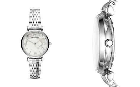 Emporio Armani Gianni T-Bar Stainless Steel Watch, 32mm - Bloomingdale's_2