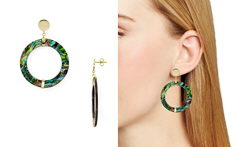 Argento Vivo Abalone Frontal Hoop Drop Earrings in 18K Gold-Plated Sterling Silver - Bloomingdale's_2