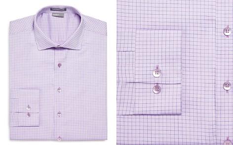 Vardama Danbury Grid Regular Fit Dress Shirt - Bloomingdale's_2
