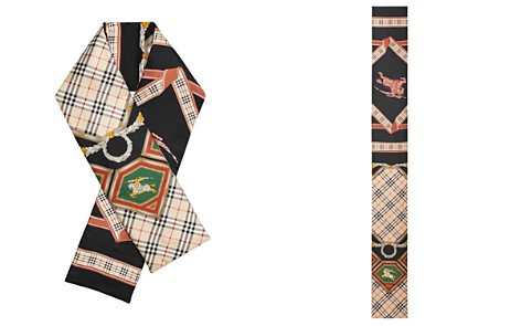 Burberry Archive Print Silk Puffer Scarf - Bloomingdale's_2