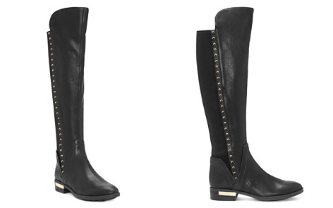 VINCE CAMUTO Women's Pardonal Studded Leather Riding Boots - Bloomingdale's_2