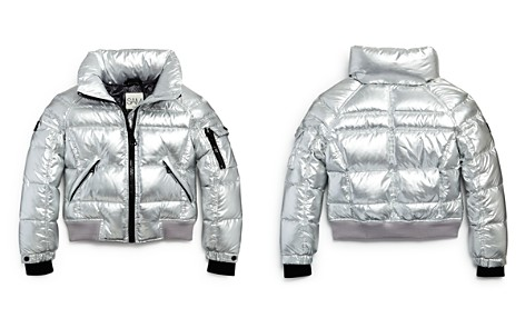 SAM. Girls' Freestyle Bomber Down Jacket - Little Kid - Bloomingdale's_2