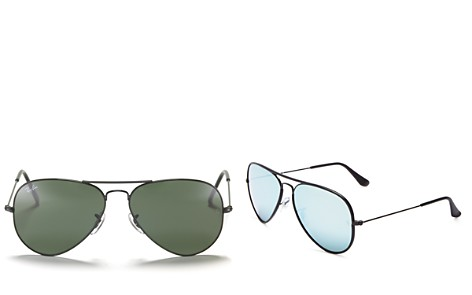 Ray-Ban Mirrored Classic Aviator Sunglasses, 56mm - Bloomingdale's_2
