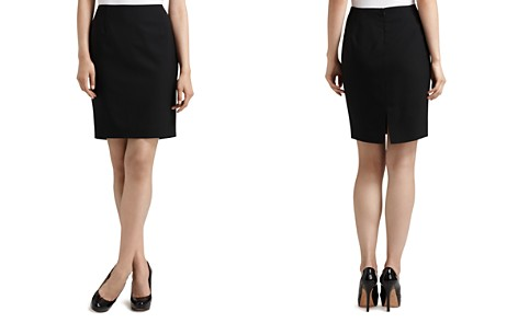 "Elie Tahari ""Bennet"" Stretch Wool Pencil Skirt - Bloomingdale's_2"