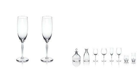 Lalique 100 Points Champagne Flute, Set of 2 - Bloomingdale's_2