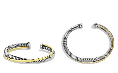 David Yurman Crossover Cuff with Gold - Bloomingdale's_2