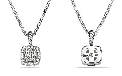 David Yurman Petite Albion Pendant with Diamonds on Chain - Bloomingdale's_2