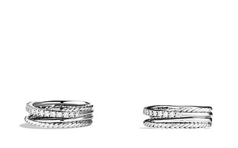 David Yurman Crossover Ring with Diamonds - Bloomingdale's_2