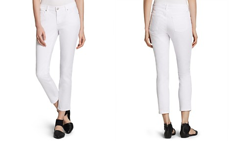 Eileen Fisher Petites System Slim Ankle Jeans - Bloomingdale's_2