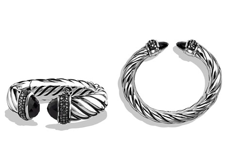 David Yurman Waverly Bracelet with Black Onyx & Black Diamonds - Bloomingdale's_2
