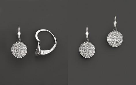 KC Designs Diamond Disk Drop Earrings in 14K White Gold, .22 ct. t.w. - Bloomingdale's_2