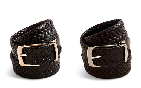 Bloomingdale's Boys Reversible Braided Belt, Little Kid, Big Kid - 100% Exclusive_2