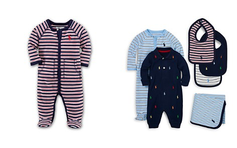 Ralph Lauren Boys' Interlock Stripe Footie - Baby - Bloomingdale's_2