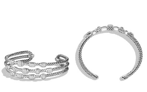 David Yurman Confetti Narrow Cuff Bracelet with Diamonds - Bloomingdale's_2
