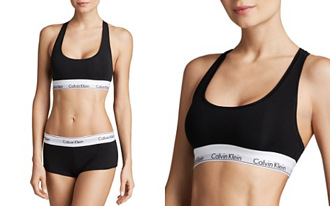 Calvin Klein Modern Cotton Bralette & Boyshort - Bloomingdale's_2