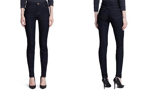 J Brand Jeans - Maria High Rise Skinny in Afterdark - Bloomingdale's_2