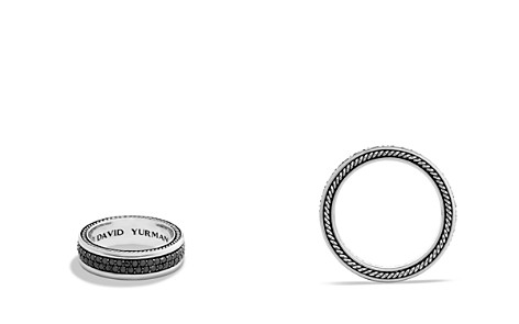 David Yurman Streamline Two-Row Band Ring with Black Diamonds - Bloomingdale's_2