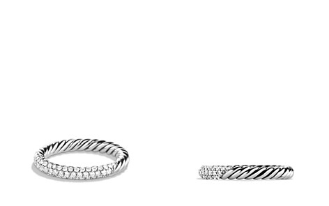 David Yurman Petite Pavé Ring with Diamonds - Bloomingdale's_2