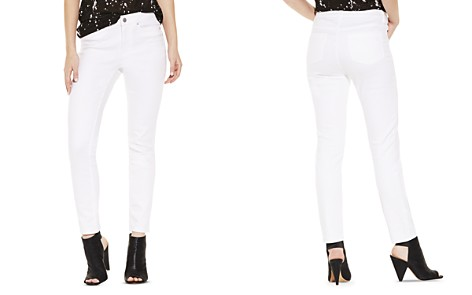 VINCE CAMUTO Petites Cropped Skinny Jeans in Ultra White - Bloomingdale's_2