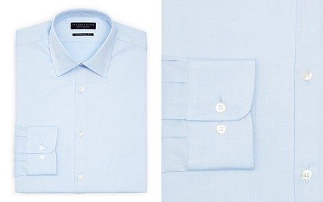The Men's Store at Bloomingdale's Textured Solid Dress Shirt - Regular Fit - 100% Exclusive_2