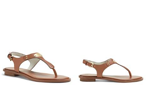 MICHAEL Michael Kors MK Plate Thong Sandals - Bloomingdale's_2